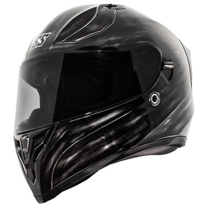 Speed and Strength SS2100 Solid Speed Helmet-Grunged Black