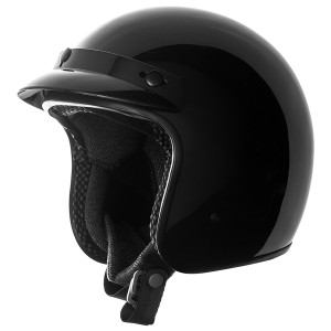 Speed and Strength SS610 Helmet-Gloss Black