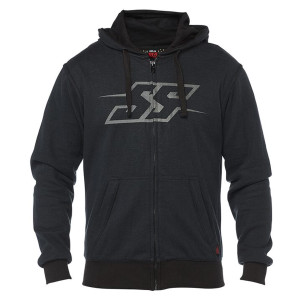 Speed and Strength Resistance Armored Hoody-Black