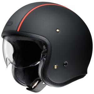 Shoei J·O Carburetor Helmet - Matte Black