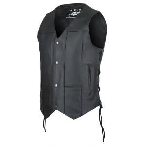 Ten Pocket Leather Vest