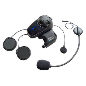 Sena SMH-10 Dual Bluetooth Headset And Intercom With Universal Microphone Kit