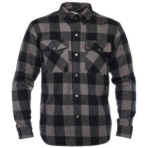 Speed and Strength Dropout Armored Flannel Shirt-Black/Grey