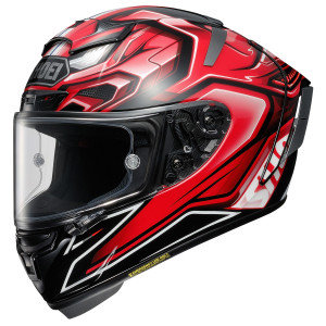 Shoei X-14 Aerodyne Helmet - Red