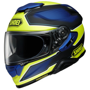 Shoei GT-Air II Bonafide Helmet - Blue/Hi-viz