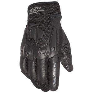 Speed and Strength Insurgent Motorcycle Gloves -Black