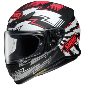 Shoei RF-1200 Variable Helmet - Black/Red