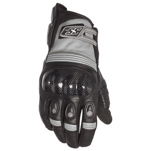 Speed and Strength Exile Leather Motorcycle Gloves - Black