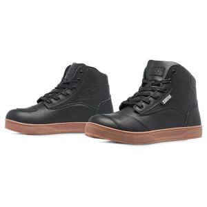 Speed and Strength Women's Jezebel Moto Shoes-Black