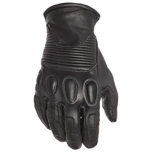 Speed and Strength Women's Pixie Leather Motorcycle Gloves -Black