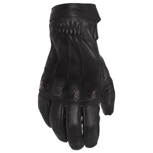 Speed and Strength Women's Onyx Leather Motorcycle Gloves