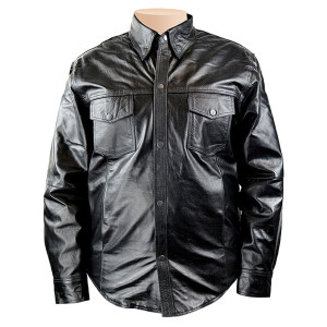 Detour Leather Shirt