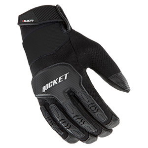 Joe Rocket Velocity 3.0 Mens Textile Motorcycle Gloves - Black