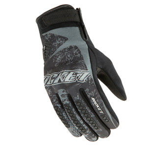 Joe Rocket Galaxy Mens Textile Motorcycle Gloves - Black