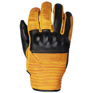 Cortech Bully Mens Leather Motorcycle Gloves-Black/Gold