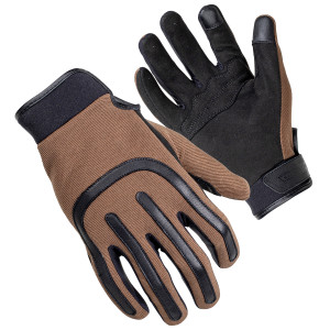 Cortech Brodie Mens Motorcycle Leather Gloves - Brown