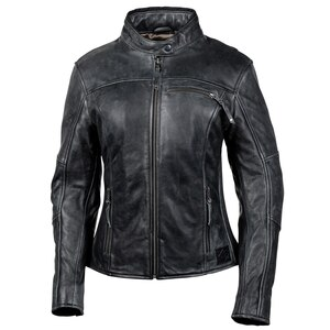 Cortech Women's Lolo Motorcycle Leather Jacket - Black