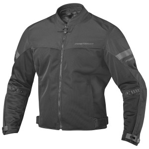 Firstgear Rush Air Mesh Motorcycle Jacket - Black