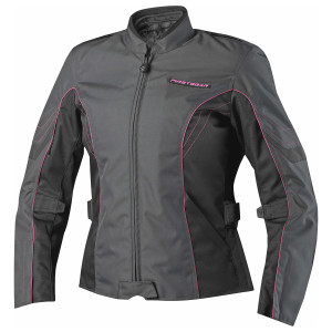 Firstgear Women's Contour Motorcycle Jacket - Black/Pink