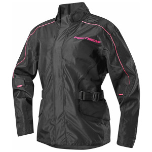 Firstgear Women's Triton Rain Jacket - Black/Pink