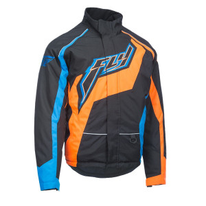 Fly Outpost Black/Orange Jacket