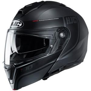 HJC i90 Davan Modular Helmet-Black/Grey