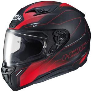 HJC i10 Taze Helmet-Black/Red