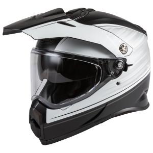 GMax AT21 Raley Helmet - Black/White