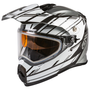 GMax AT-21S Adventure Epic Snow Helmet - White/Black
