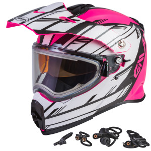 GMax Women's AT-21S Adventure Epic Snow Helmet With Electric Shield