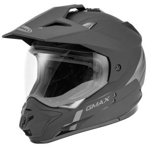 GMax GM11D Scud Helmet - Black/Grey