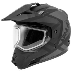 GMax GM11S Trapper Snow Helmet - Black/Grey