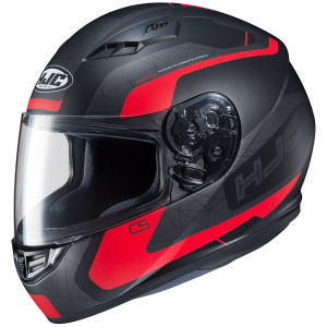 HJC CS-R3 Dosta Helmet-Black/Red