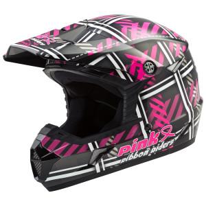 GMax MX46 Pink Ribbon Riders Helmet