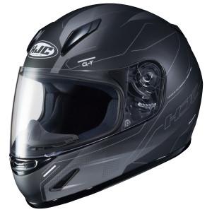 HJC Youth CL-Y Taze Helmet-Black/Grey
