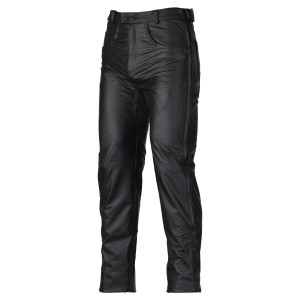Black Motorcycle Leather Overpants