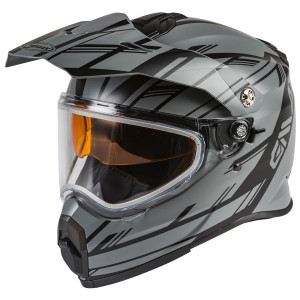 GMax Youth AT-21Y Adventure Epic Snow Helmet - Black/Grey