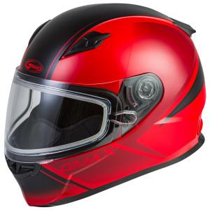 GMax Youth GM-49Y Hail Snow Helmet - Red/Black