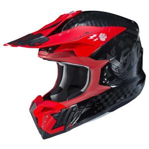 HJC i50 Artax Helmet-Black/Red