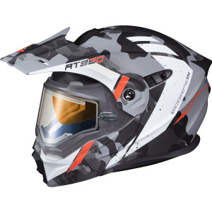 Scorpion EXO-AT950 Outrigger Helmet With Electric Shield - Matte Grey