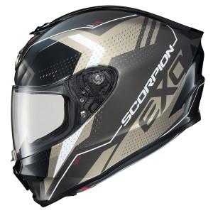 Scorpion EXO-R420 Seismic Helmet - Titanium