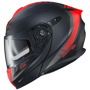 Scorpion EXO-GT920 Unit Modular Helmet - Black/Red