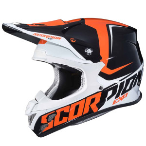 Scorpion VX-R70 Ozark Helmet - Black/Orange