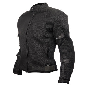 Detour 8016 Mesh Motorcycle Jacket-Black