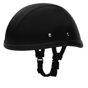 Daytona Novelty Eagle Leather Covered Helmet