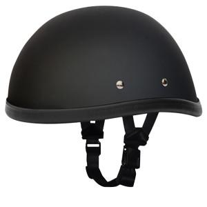 Daytona Novelty Eagle Half Helmet - Flat Black