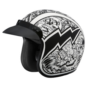 Daytona Cruiser Graffiti Helmet
