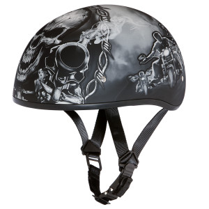Daytona Skull Cap Guns Helmet