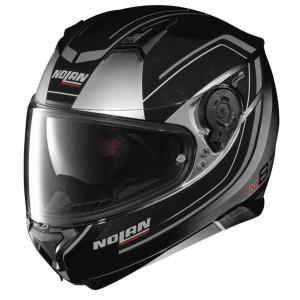 Nolan N87 Savoir Faire Helmet - Silver