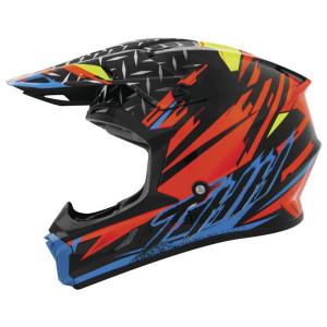 THH T710X Assault Helmet - Black/Orange